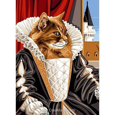 Noblesse de chat canevas - SEG