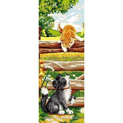 Mimo Verde canevas chat de chien
