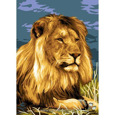 Canevas animaux sauvages creamagic page 3 - Animaux du roi lion ...
