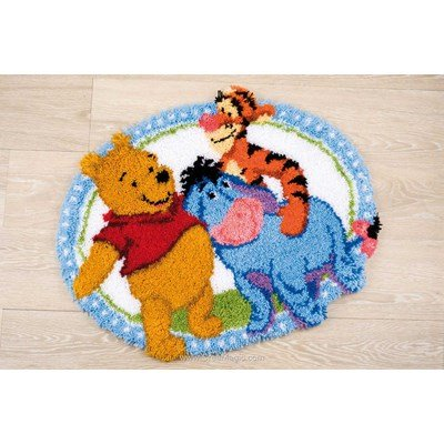 Tapis point noue Vervaco winnie et ses amis - disney