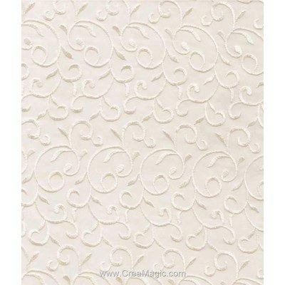 Toile aida 5.5 pts imprimée arabesque sable - Brod'star à broder