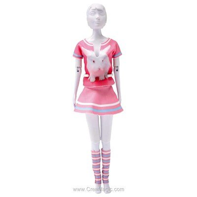 Vêtement tiny rabbit DRESS YOUR DOLL pour barbie