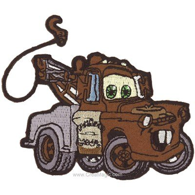 Ecusson brodé cars martin - MLWD