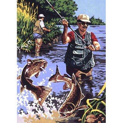 SEG canevas carnet de pêche