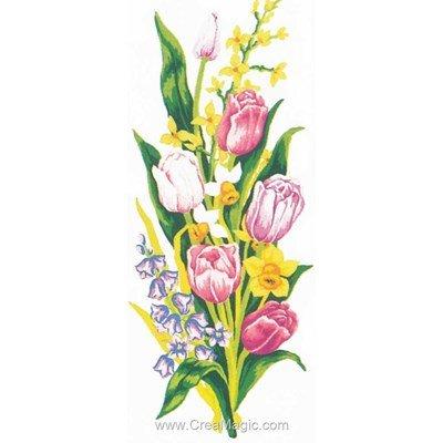 Fraicheur des tulipes canevas - Collection d'art