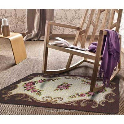 Kit tapis point noue chantilly luxia de Smyrnalaine