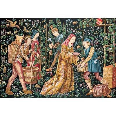 SEG canevas tapisserie scène de vendanges