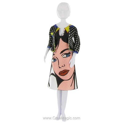 Couture lizzy pop art DRESS YOUR DOLL