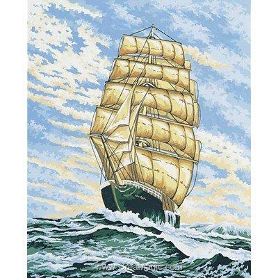 Sous le vent canevas - Collection d'art
