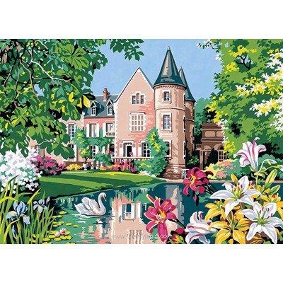 Le castel fleuri canevas - SEG