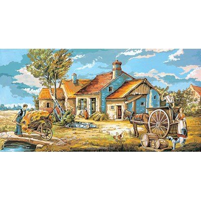 Scène rurale canevas - SEG