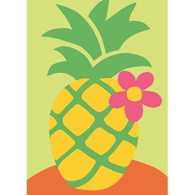Ananas fleuri kit canevas debutant - DMC