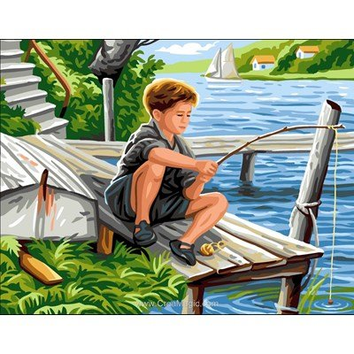 Le petit pêcheur canevas chez Royal Paris