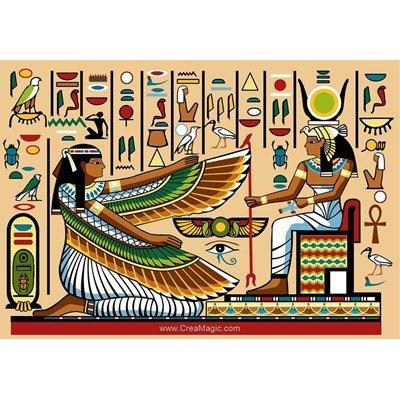Canevas SEG scène d'egypte