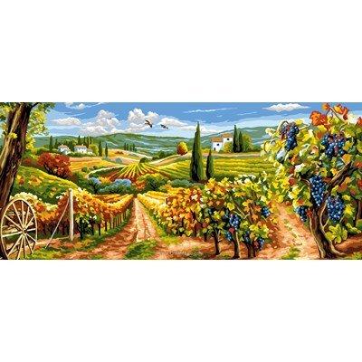 Les vignes canevas - Rafael Angelot