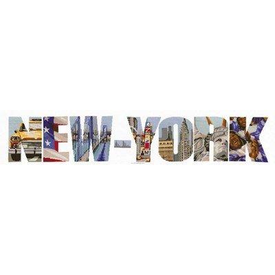 Kit tableau Marie Coeur point de croix new-york en images