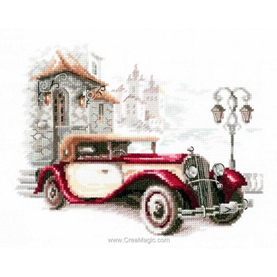 Kit broderie Magic Needle cadillac de collection