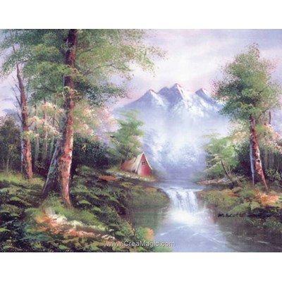 Le paysage de montagne canevas chez Collection d'art