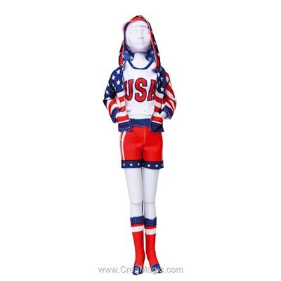Couture sporty stars DRESS YOUR DOLL