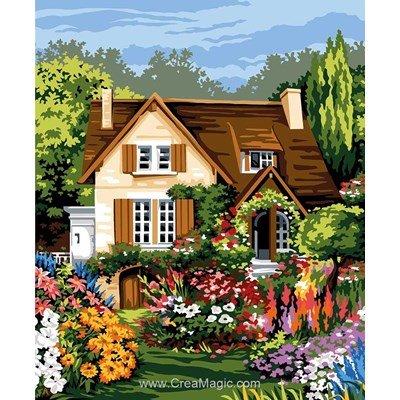 La maison en floraison canevas - Margot