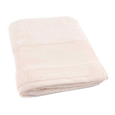Serviette de toilette coton 500 g/m2 -col 043 rose clair à broder de DMC