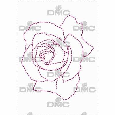 Feuille magique - costum by me ! rose line - DMC