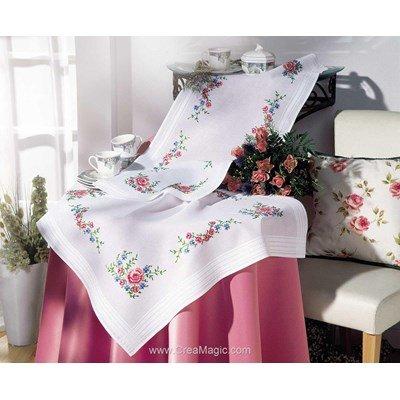 nappe broderie traditionnelle creamagic. Black Bedroom Furniture Sets. Home Design Ideas