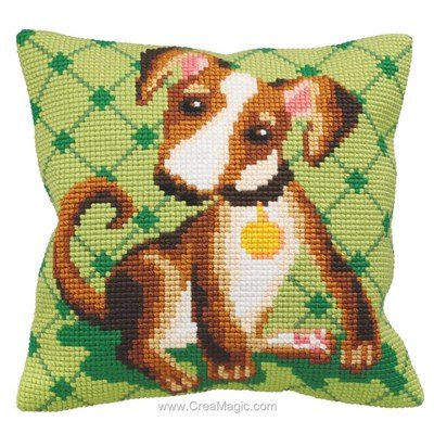 Kit coussin Collection d'art au point de croix astuss