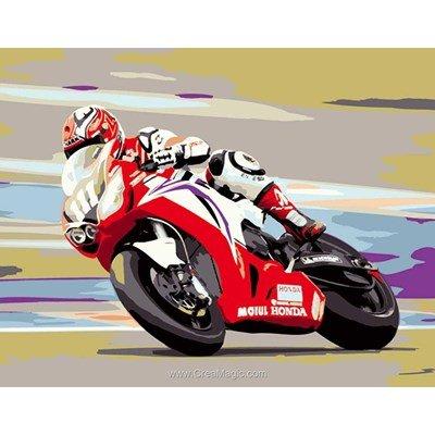 Luc Création canevas grand prix de moto