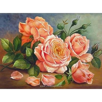 Broderie diamant Diamond Painting rose aroma