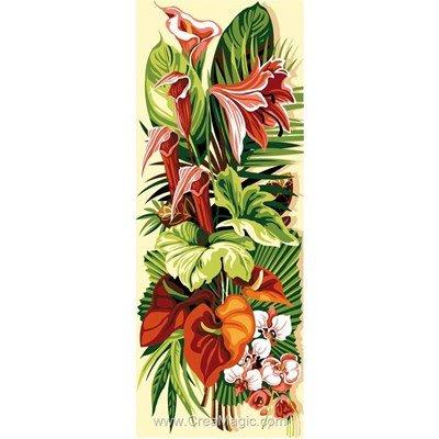 Exotiques arums canevas - SEG