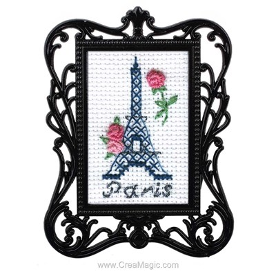 Mini kit broderie tour eiffel - RTO