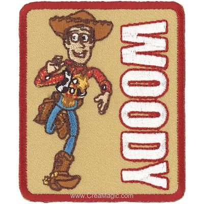 Motif thermocollant toystory woody de MLWD
