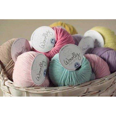 Laine woolly de dmc - 100% mérinos art-488