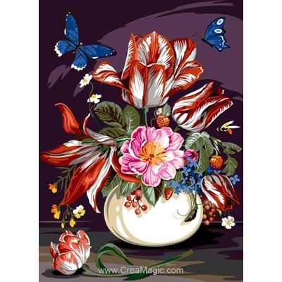 Canevas bouquet vivant - SEG