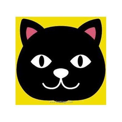 Dessine moi un chat kit canevas pour débutant - Margot