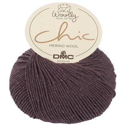 Laine woolly chic de dmc - mérinos 488c