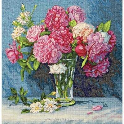 Mary's bouquet le point de croix - Dimensions