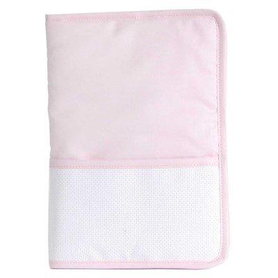 Protège carnet de santé naissance à broder mes grands classiques rose - DMC
