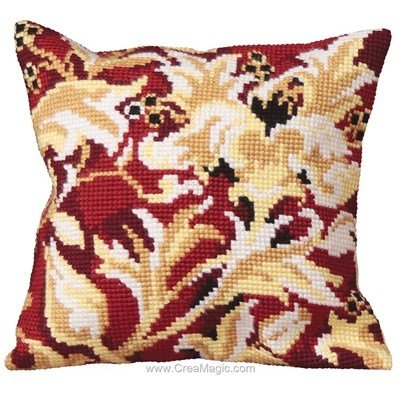 Kit coussin elisabethaine de Collection d'art au point de croix