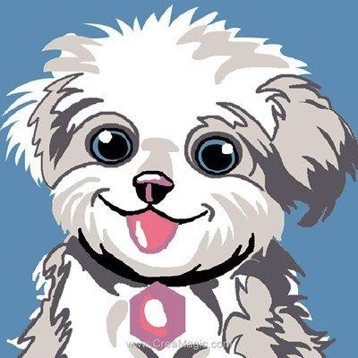 Le beau sourire kit canevas Luc Création pour enfant