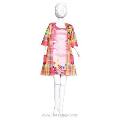 Couture set betty madras DRESS YOUR DOLL pour barbie