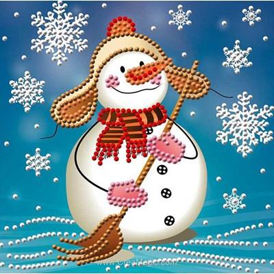 Kit broderie diamant snowman de Diamond Painting
