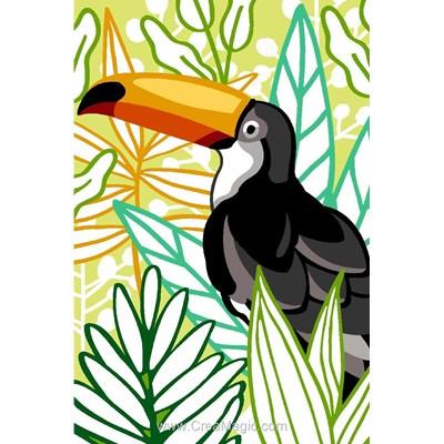 Le toucan exotique canevas - SEG