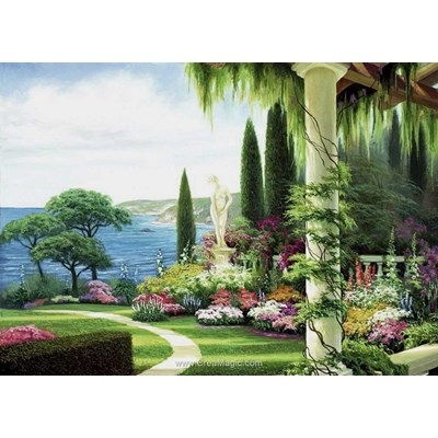 Kit broderie diamant garden near the sea de Diamond Painting