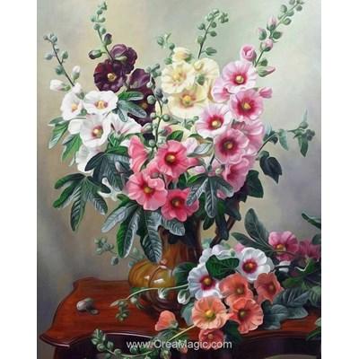 Kit broderie diamant bright flowers de Diamond Painting