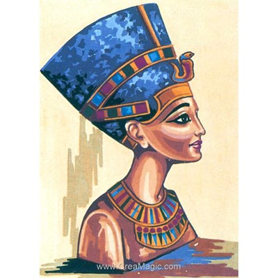 Buste de reine d'egypte canevas chez Collection d'art