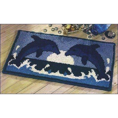Kit tapis point noue les dauphins de Smyrnalaine