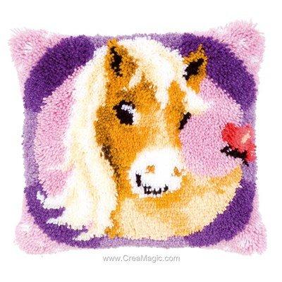 Kit coussin point noué Vervaco mon petit poney