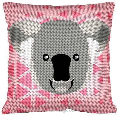 Kit coussin Margot au demi point koala smile